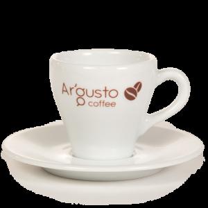 Ar'Gusto porcelán kávéscsésze és alj (1 db, Kávés)