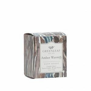 Greenleaf Illatgyertya dobozos (56g, Amber Warmth)