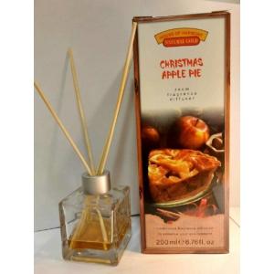 Bambuszpálcás illatosító karácsonyi almás pite illat (200ml, Christmas Apple Pie)
