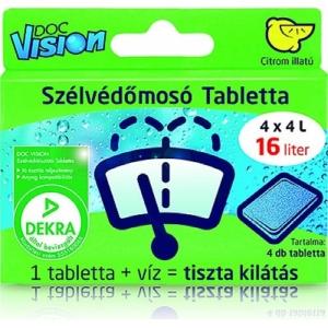 Doc Vision szélvédőmosó tabletta (4 db)