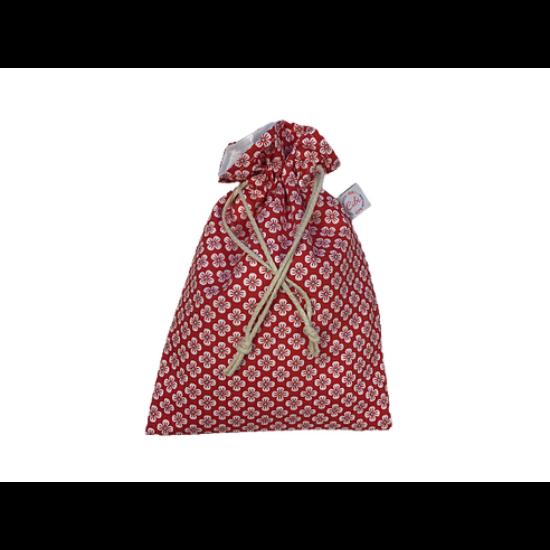 Újrazsák-Kenyeres tasak mini, Fiona-piros
