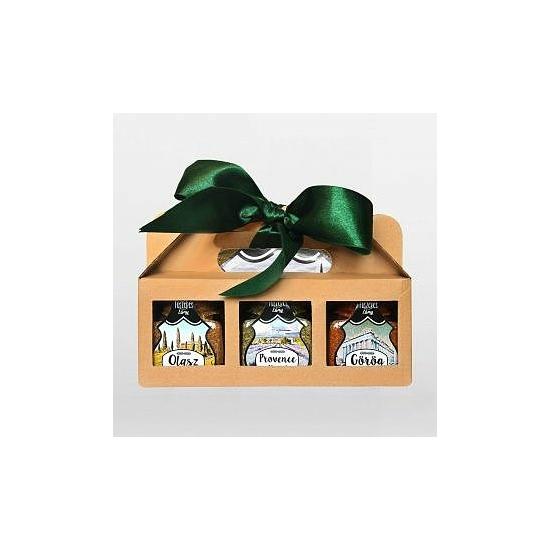 Fűszer Ajándékcsomag (Mediterrán álom 3in1)