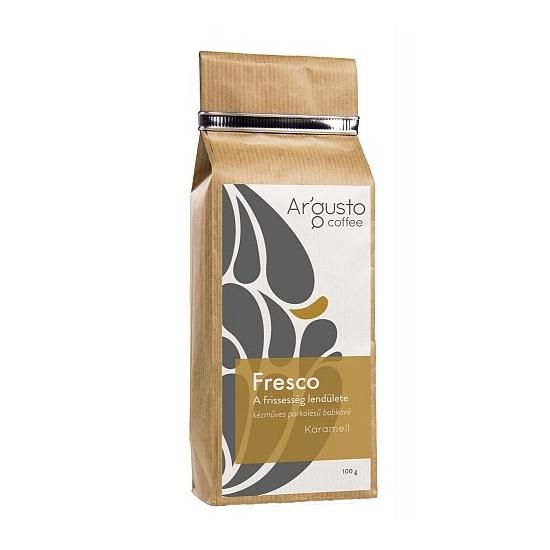 Ar'Gusto Fresco ízesített kávé (100 g, Szemes babkávé, Karamell)