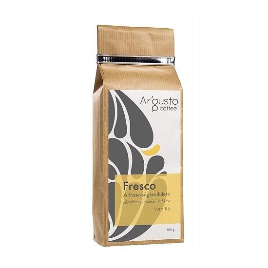 Ar'Gusto Fresco ízesített kávé (100 g, Szemes babkávé,Vanilia)