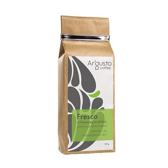 Ar'Gusto Fresco ízesített kávé (100 g, Szemes babkávé, Vanília és makadámdió)