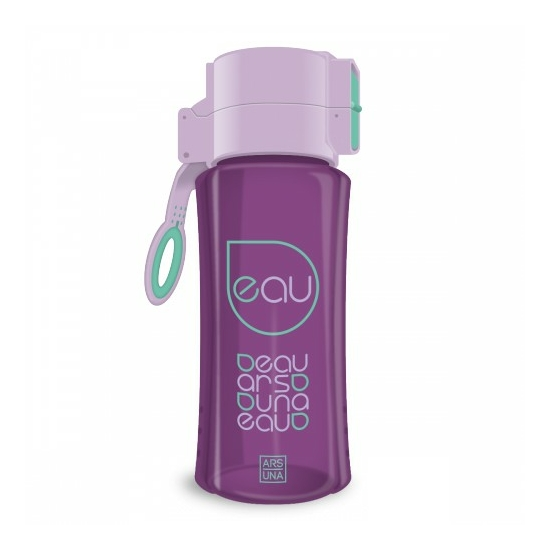 BPA mentes kulacs - 450ml (Lila-zöld)