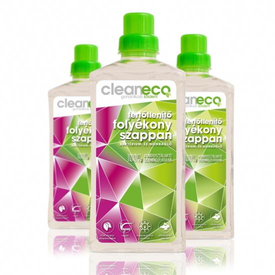 Folyékony szappan fertőtlenítő-komposztálható csomagolásban (1 L)