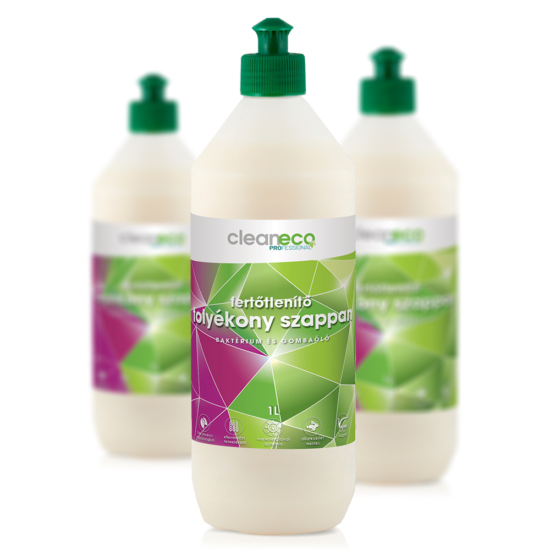 Fertőtlenítő folyékony szappan - sportkupakkal (1L)