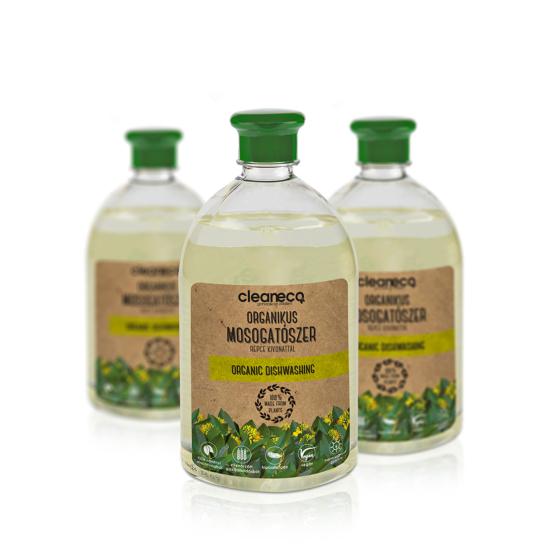 Organikus kézi mosogatószer repce kivonattal újrahasznosított csomagolásban (1 L)
