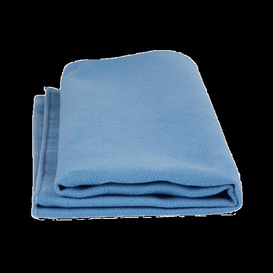 Mikroszálas törlőkendők (kék, 1 db, Premium fine, 40x40)