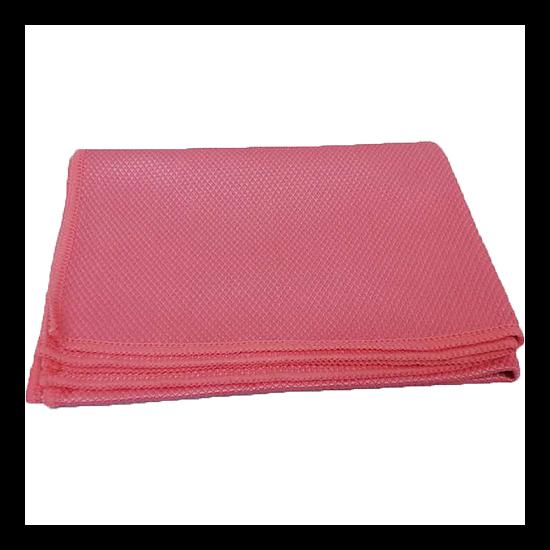 Mikroszálas törlőkendők (rózsaszín, 1 db, Üvegtörlő, 65x45)