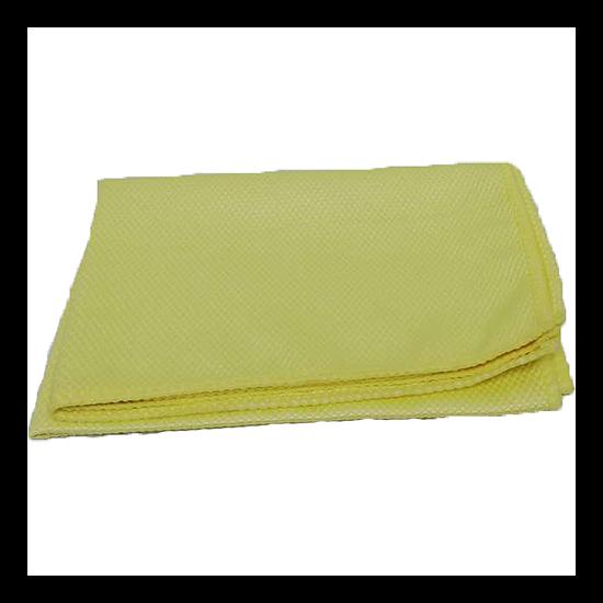 Mikroszálas törlőkendők (sárga, 1 db, Üvegtörlő, 65x45)