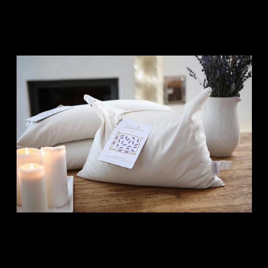 Aromaterápiás tönkölypelyva pihenőpárna (közepes (30x40 cm))