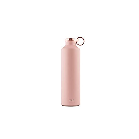 Rozsdamentes duplafalú acél hőtartó kulacs (Pink, 680ml)