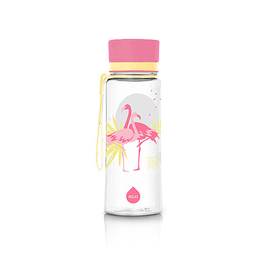 BPA mentes kulacs - 600ml (Flamingó)