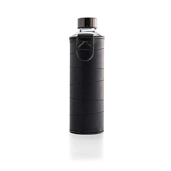 Elegáns műbőr borítású üvegkulacsok - 750ml (Grafit)