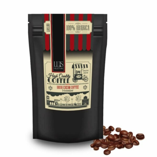Luis kávék (90 g, Szemes babkávé, Ír krém)