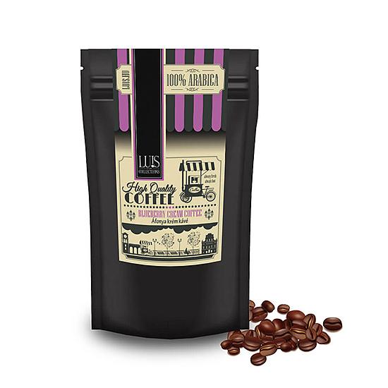 Luis kávék (90 g, Szemes babkávé, Áfonya krém)
