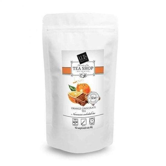 Tasakos tea (80 g, Narancsos csokoládé)