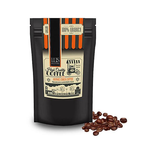 Luis kávék (90 g, Szemes babkávé, Narancsos csoki)