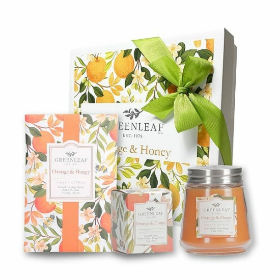 Greenleaf ajándékcsomag (Orange&Honey)