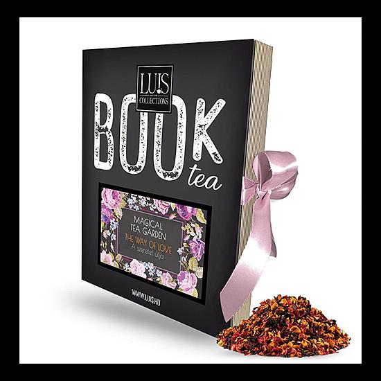 Magical tea garden könyv tea - A szeretet útja