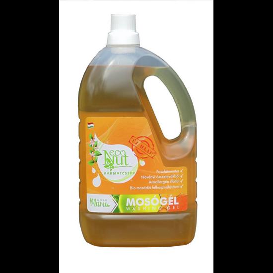 EcoNut mosódiós mosógél (3000 ml, harmatcsepp)