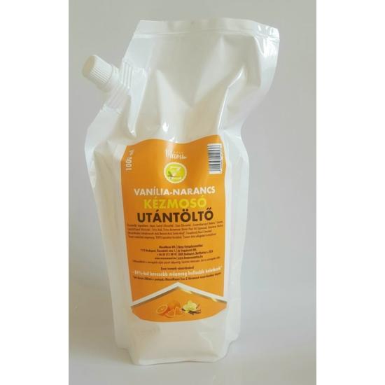 Eco-Z folyékony szappan vanília-narancs illattal- Utántöltő (1000ml)