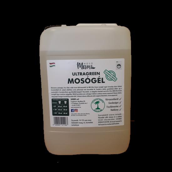 Ultragreen Mosógél (pálmavaj mentes) (5000 ml, Illatmentes)