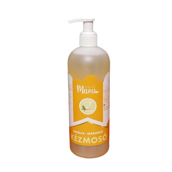 Eco-Z folyékony szappan vanília-narancs illattal (500 ml)