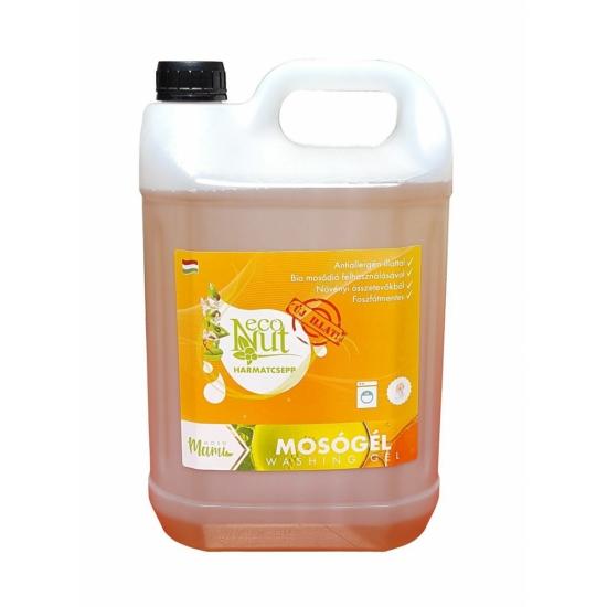 EcoNut mosódiós mosógél (5000 ml, harmatcsepp)