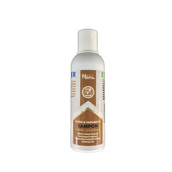 Eco-Z mélytisztító és kondicionáló sampon hamamelisz és ichtiol kivonattal (100 ml)