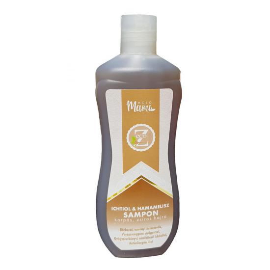 Eco-Z mélytisztító és kondicionáló sampon hamamelisz és ichtiol kivonattal (350 ml)