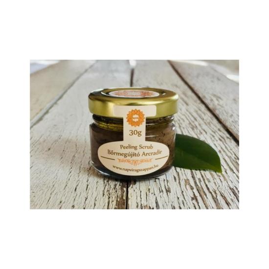 Arcradír Kávés, vanília illattal, parajdi sóval, organikus szőlőmag-, mandula- és olíva olajjal 30g
