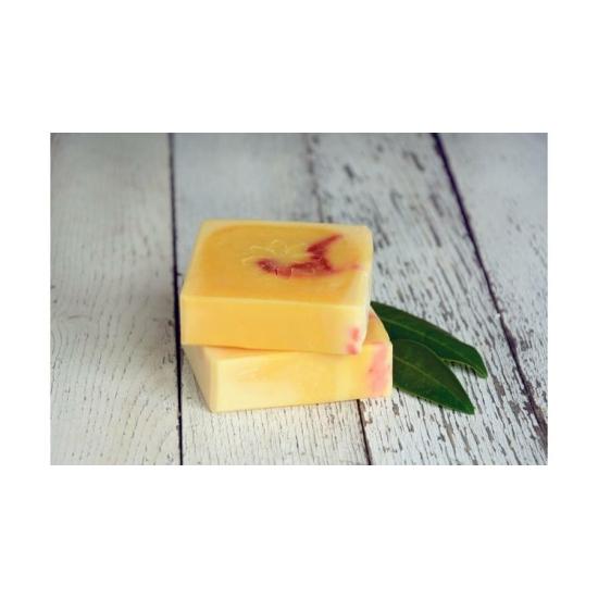 Natúr szappan - Narancs, édes narancs illóolajjal és friss narancslével 120g