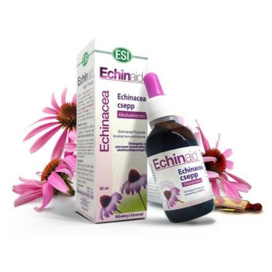 Alkoholmentes Echinacea csepp (50 ml)