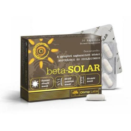 Beta-SOLAR Napozóvitamin (30db )