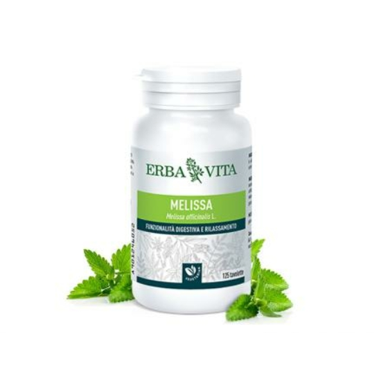 ErbaVita® Mikronizált Citromfű tabletta  (125 db)