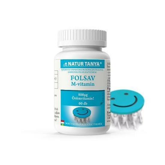 Szerves Folsav (M-vitamin) (60 db)