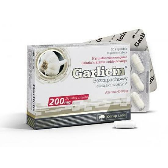 Garlicin szagtalanított fokhagyma kivonat (30 db)