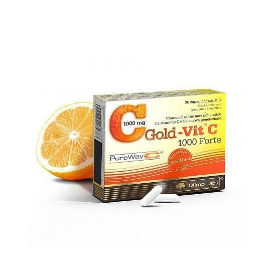 Gold-Vit C 1000 Forte - újgenerációs szabadalmazott C-vitamin formula (30 db)