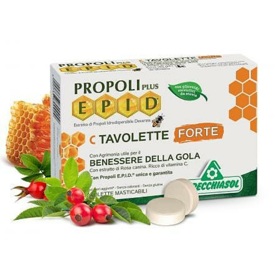 Propolisz szopogatós tabletta FORTE - Specchiasol® EPID® C-vitaminnal (20 db)