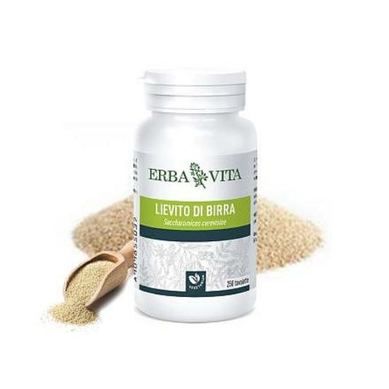 ErbaVita® Mikronizált Sörélesztő tabletta (250 db)