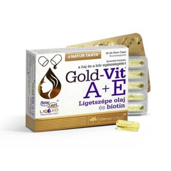 Ligetszépe olaj kapszula A+E vitaminnal (30 db)