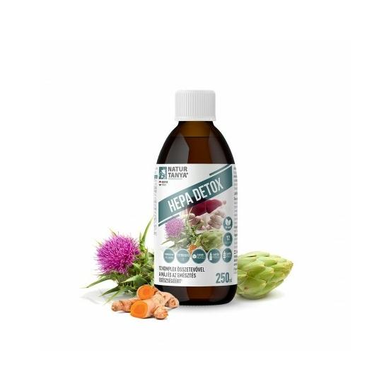 Hepa Detox máj és emésztés 250 ml