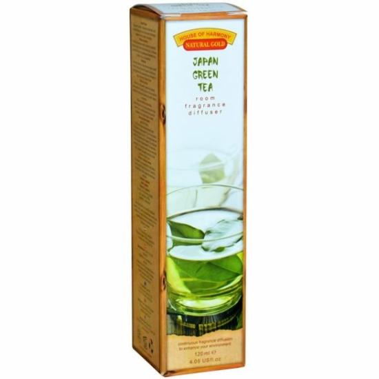 Bambuszpálcás Illatosító (120ml, Japan green tea)