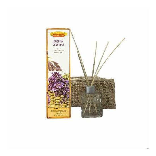 Bambuszpálcás illatosító angol levendula (120ml, English Lavander)