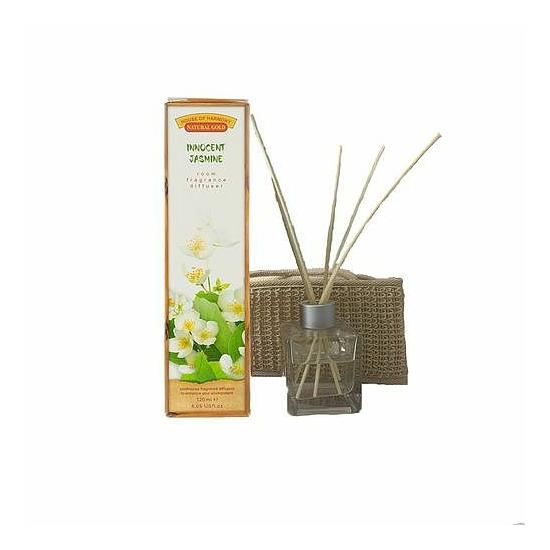 Bambuszpálcás illatosító jázmin illat (120ml, Innocent Jasmin)