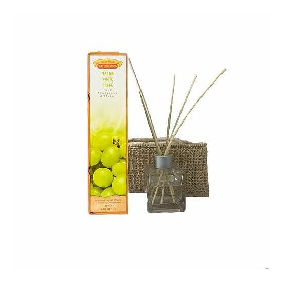 Bambuszpálcás illatosító olasz fehér szőlő illat (120ml, Italian White grape)