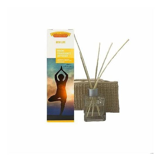 Bambuszpálcás illatosító (120ml, New Life)